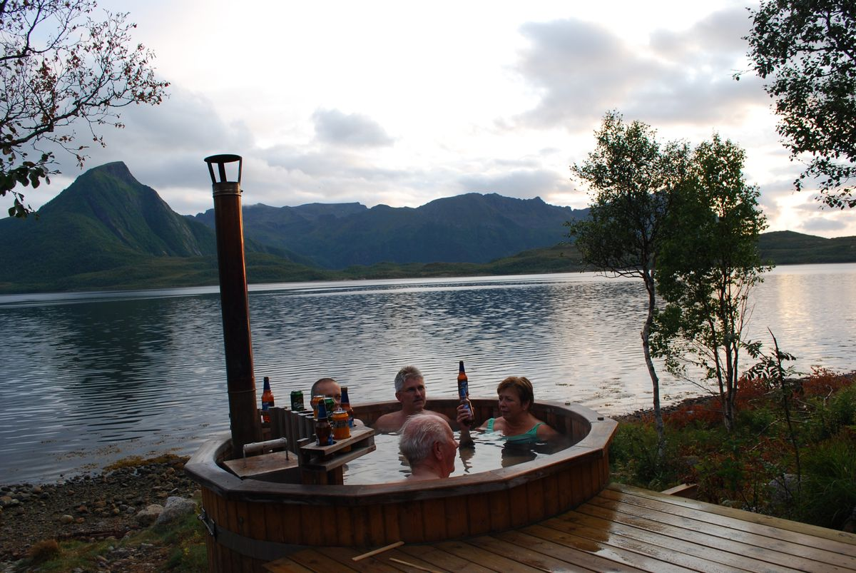 Hot-tubs and sauna gives a great feeling for for body and for the mind